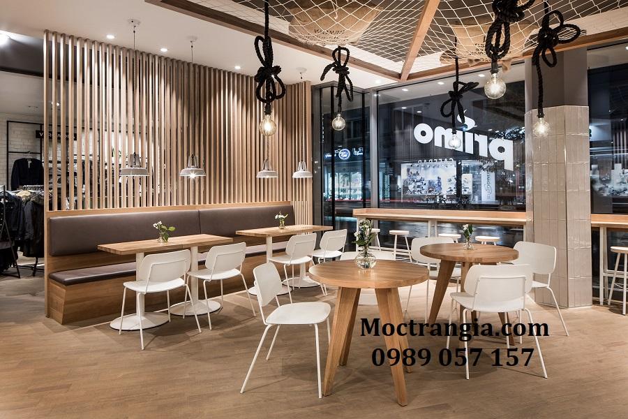 Thiết Kế Thi Công Quán Cafe Giá Rẻ 007GT