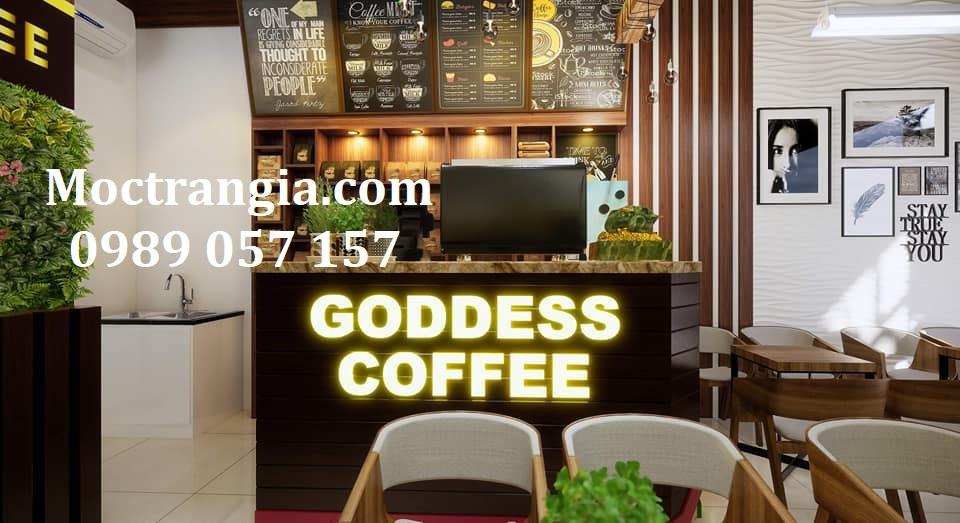 Thiết Kế Thi Công Quán Cafe Trọn Gói 004GT