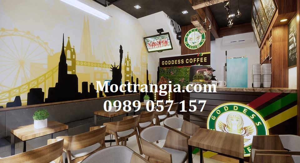Thiết Kế Thi Công Quán Cafe Trọn Gói 007GT