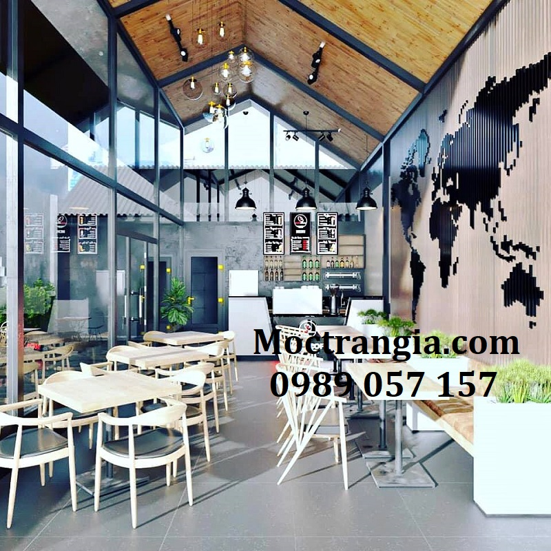 Thiết Kế Thi Công Quán Cafe Trọn Gói 024GT