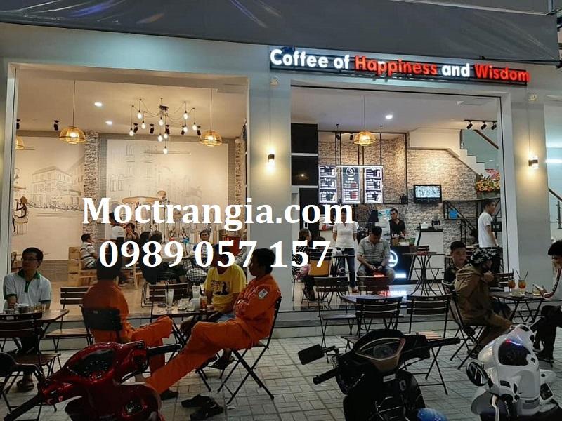 Thiết Kế Thi Công Quán Cafe Trọn Gói 027GT