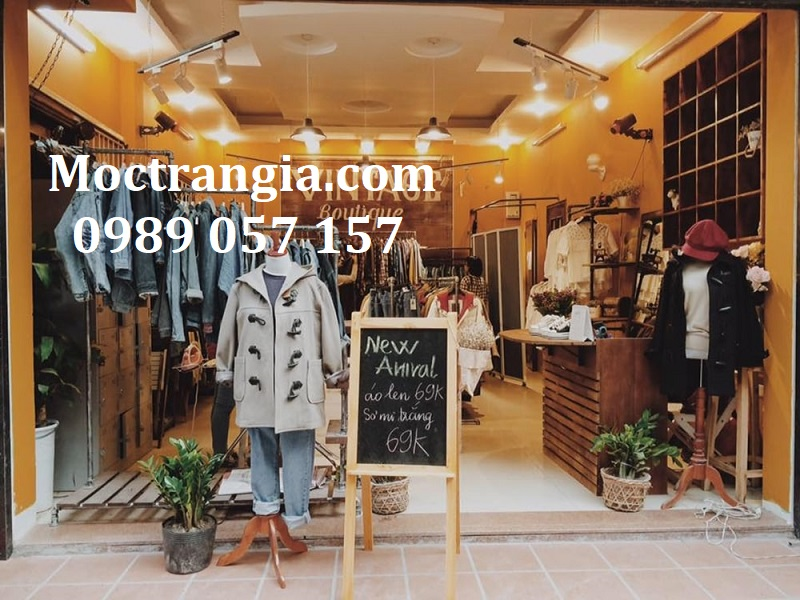 Thiết Kế Thi Công Shop Quần Áo 002GT