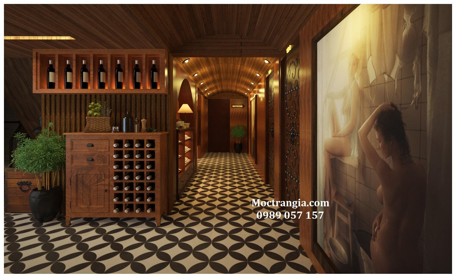 Hầm Rượu 007GT