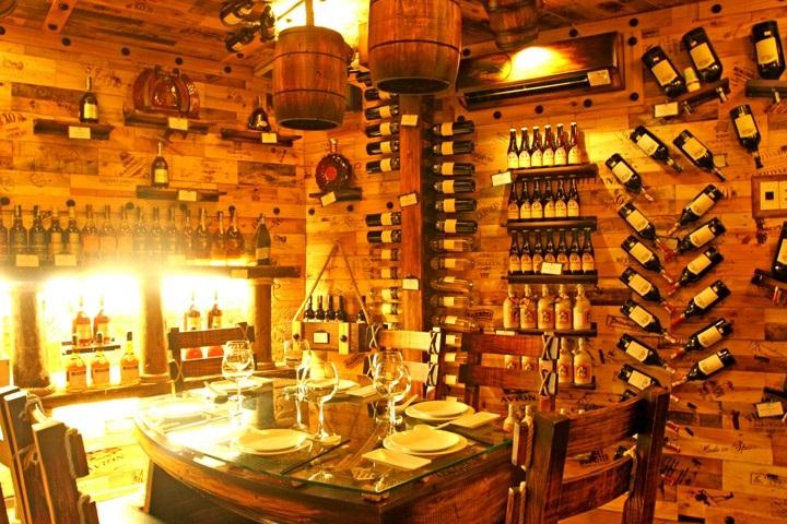 Ý tưởng thiết kế hầm rượu vang