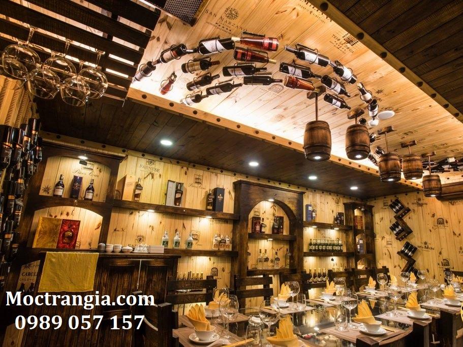 Thi Công Hầm Rượu Đẹp 111GT