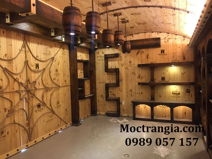 Thi Công Hầm Rượu Gia Đình 112GT