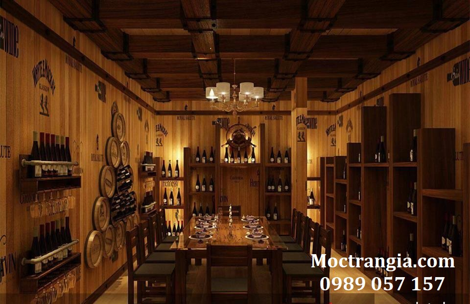 Thi Công Hầm Rượu Đẹp 103GT