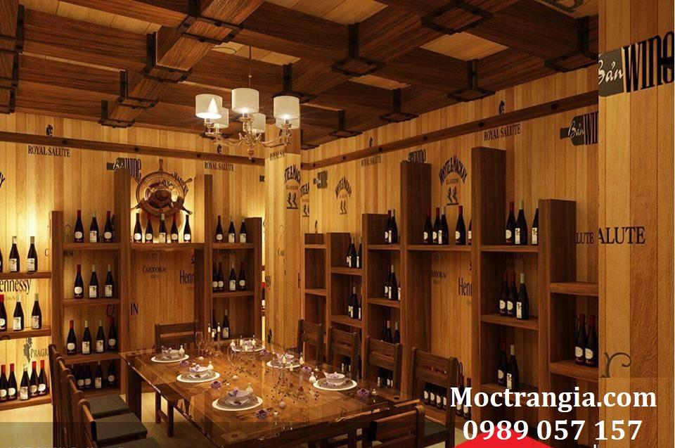 Thi Công Hầm Rượu Đẹp 107GT