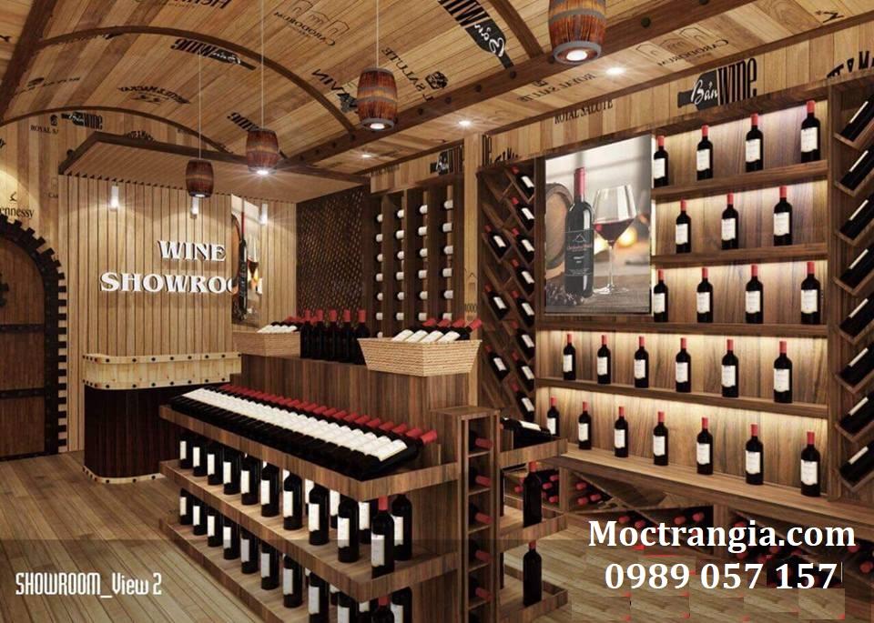 Thi Công Hầm Rượu Đẹp 117GT