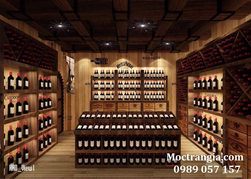 Thi Công Hầm Rượu Đẹp 118GT