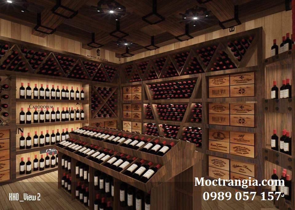 Thi Công Hầm Rượu Đẹp 119GT