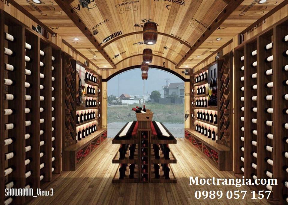 Thi Công Hầm Rượu Đẹp 120GT