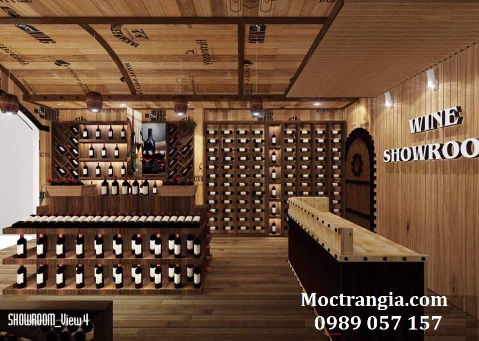 Thi Công Hầm Rượu Đẹp 121GT