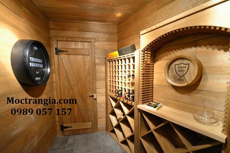Thi Công Hầm Rượu Gia Đình Đẹp 088GT