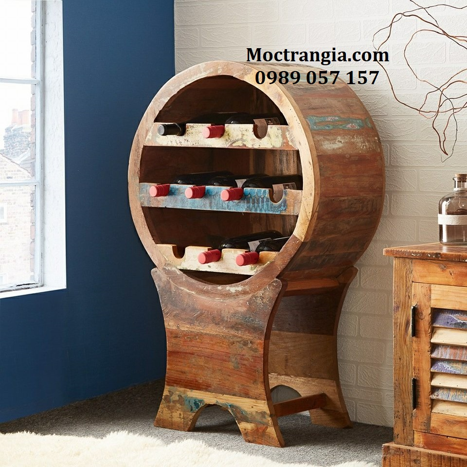 Mẫu Kệ Trưng Bày Rượu Đẹp_Moctrangia
