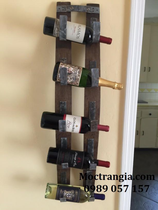Kệ Rượu Treo Tường 010GT