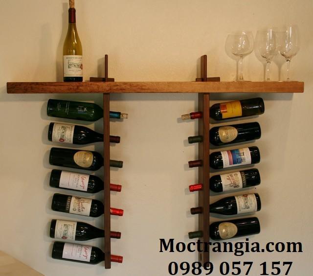 Kệ Rượu Treo Tường 015GT