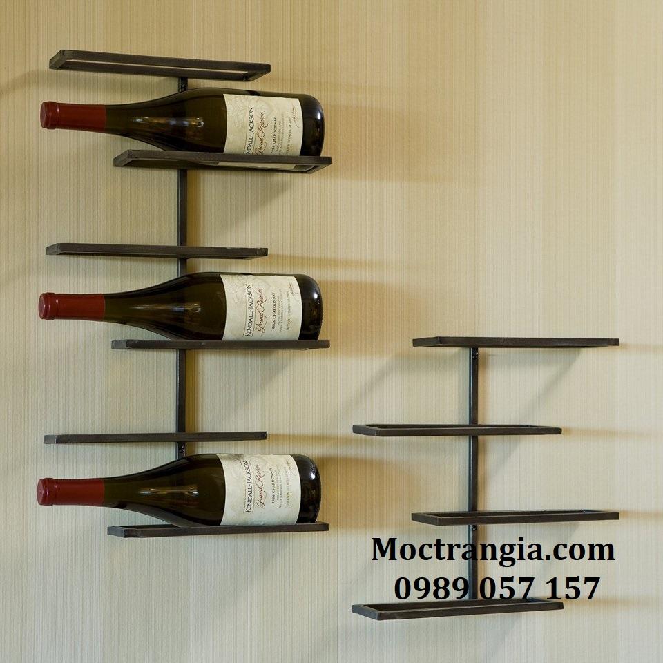 Kệ Rượu Treo Tường 008GT