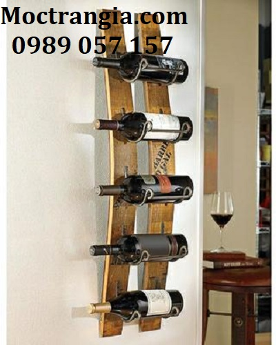 Kệ Rượu Treo Tường 013GT