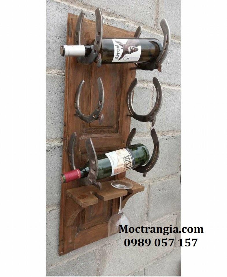 Kệ Rượu Treo Tường 005GT