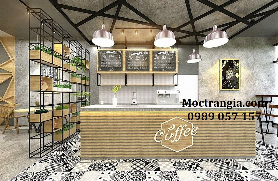 Quầy Bar Cafe Giá Rẻ 018GT