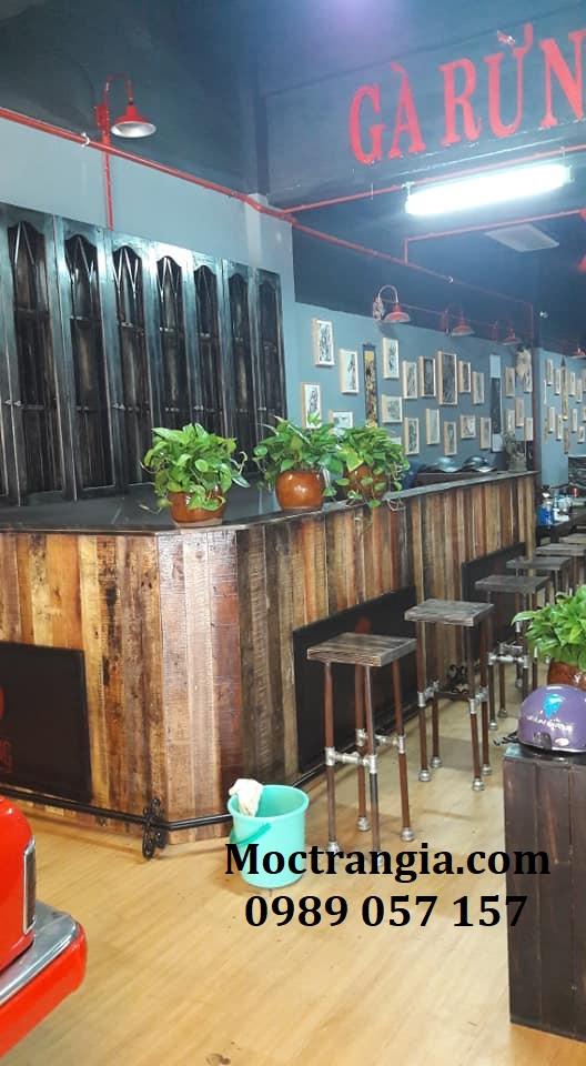 Quầy Bar Cafe Giá Rẻ 028GT