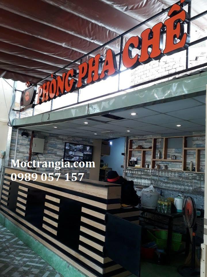 Quầy Bar Cafe Giá Rẻ 021GT