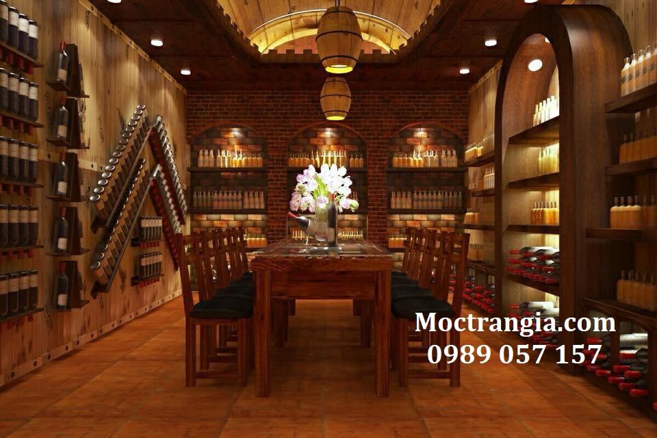 Thi Công Hầm Rượu Đẹp 099GT