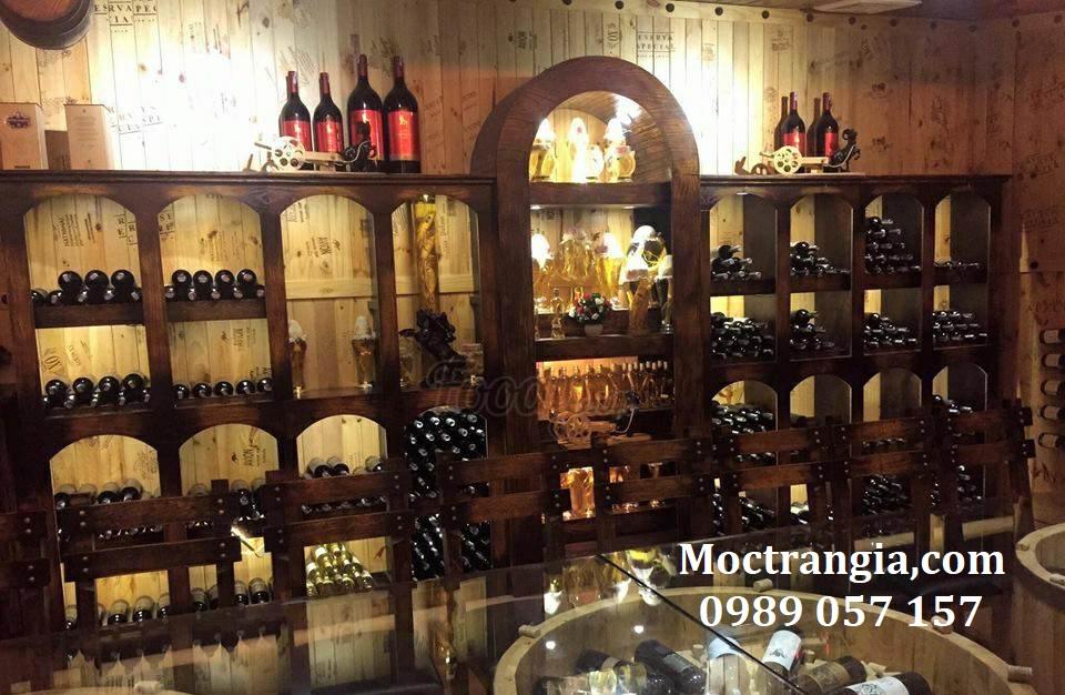 Thi Công Hầm Rượu Đẹp 098GT